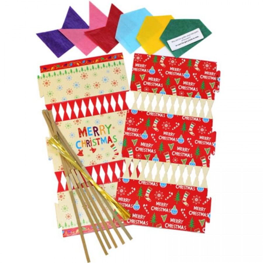 Make your own christmas crackers santa reindeer creative activity make your own christmas crackers santa reindeer solutioingenieria Choice Image