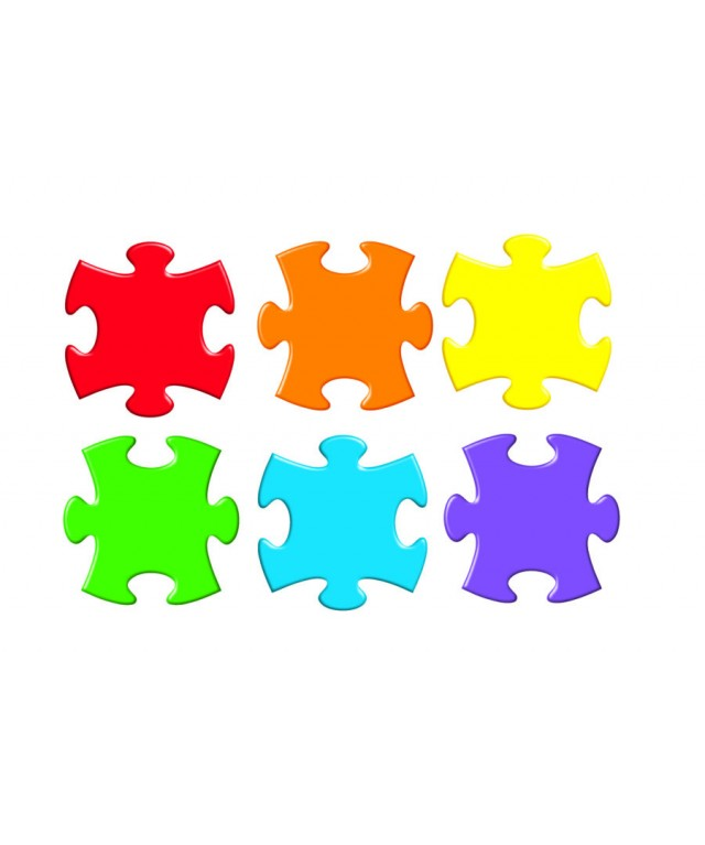 Display Accents Puzzle Pieces
