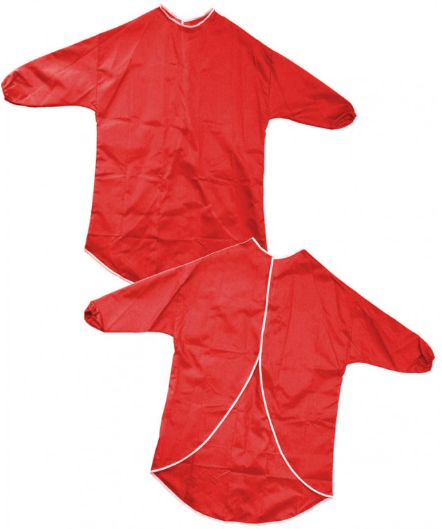 Nylon Play Apron 65cm Red