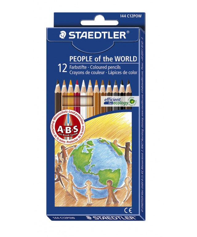 Staedtler Noris Colouring Pencils People of the World
