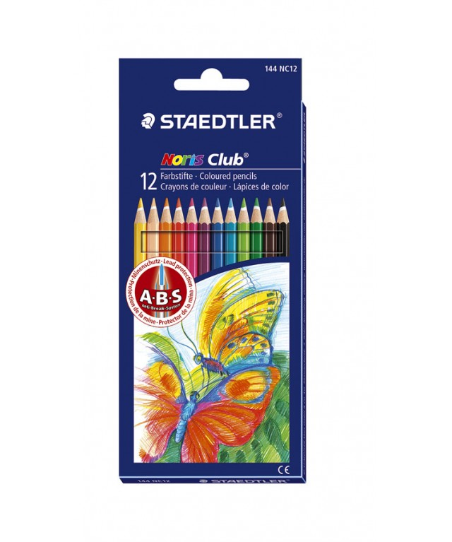 Staedtler Noris Colouring Pencils Red