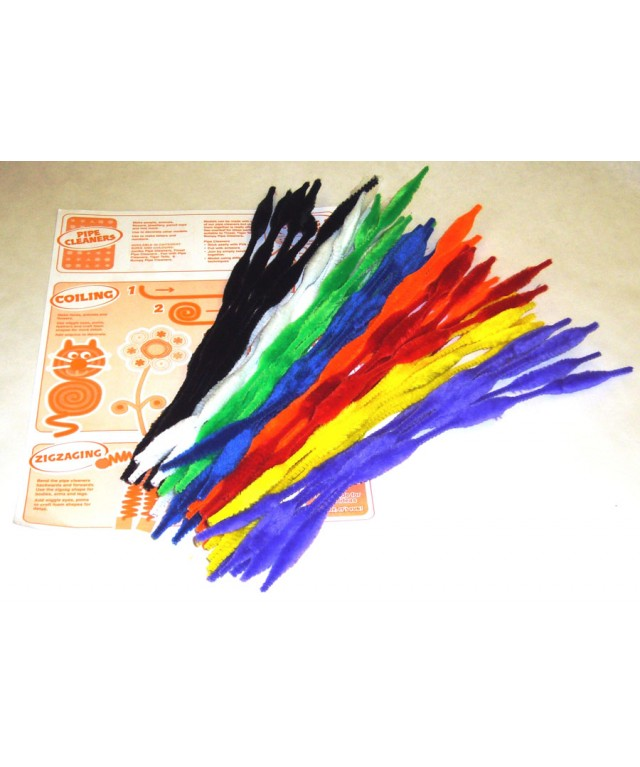 Pipecleaners 300 x 15mm