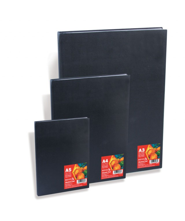 Reeves Sketch Pads Wire Bound A4