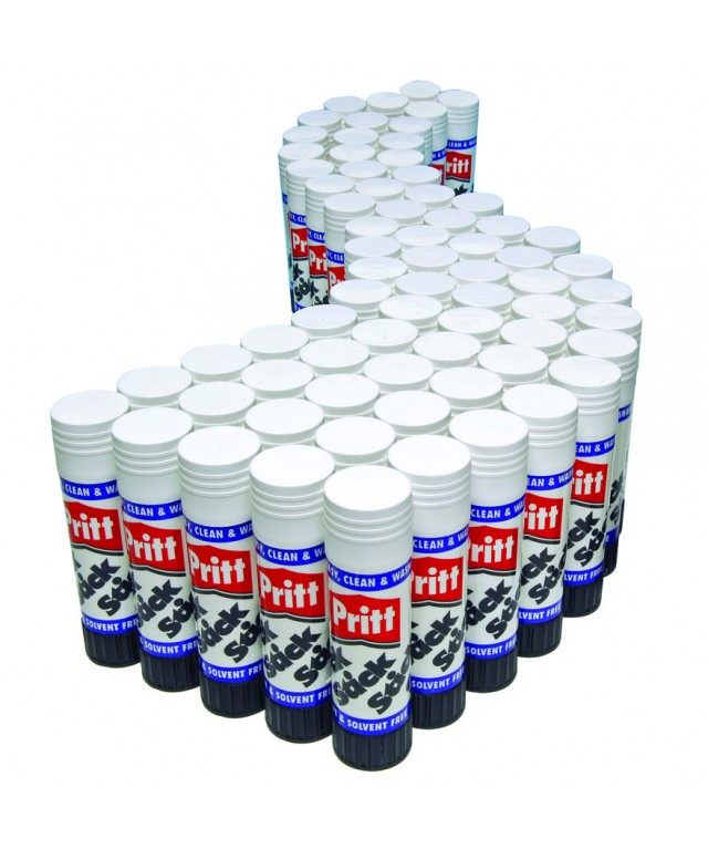 Class Pack Pritt Sticks Original Large 43G - In Gratnells Tray