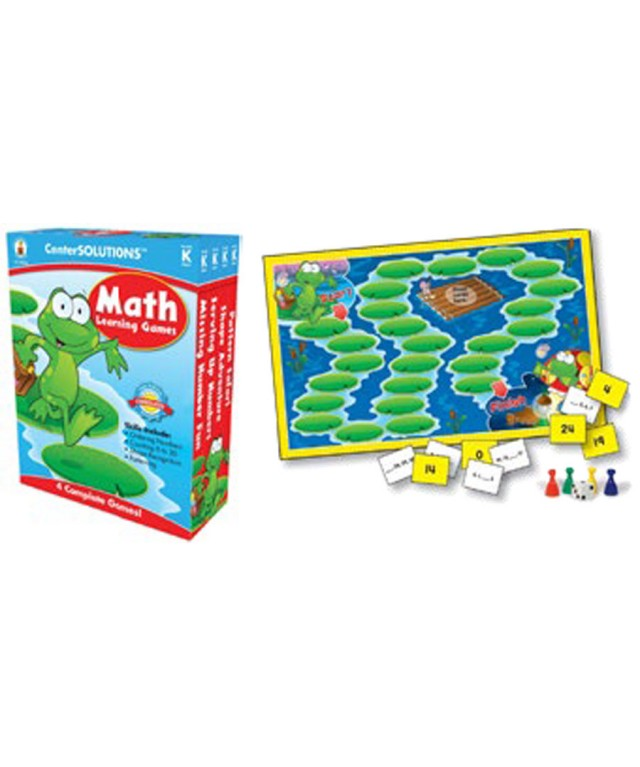 Math Learning Board Games