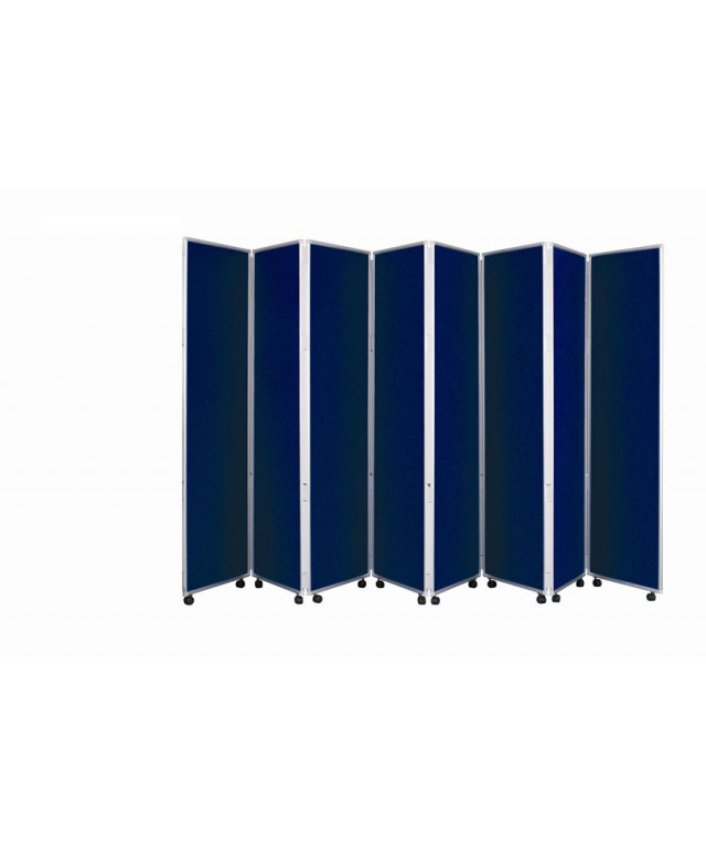 Concertina Mobile Room Dividers 1200mm High