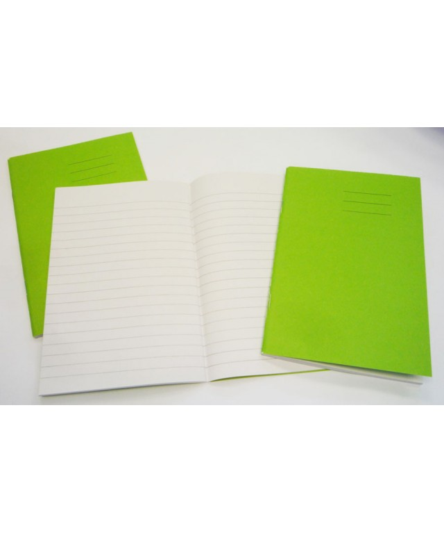Exercise Books 6 X 4 48 Page 7mm Feint Vivid Blue