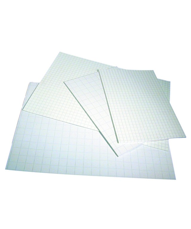 Exercise Paper A4 2 Hole Punched 10mm Squares