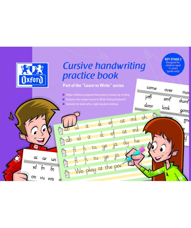 Themed Exercise Books A4 Cursive Handwriting Ks2