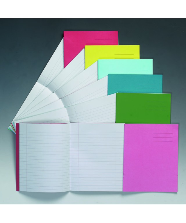 Exercise Books 8 X 6.5 32 Page 8mm F & M Vivid Blue