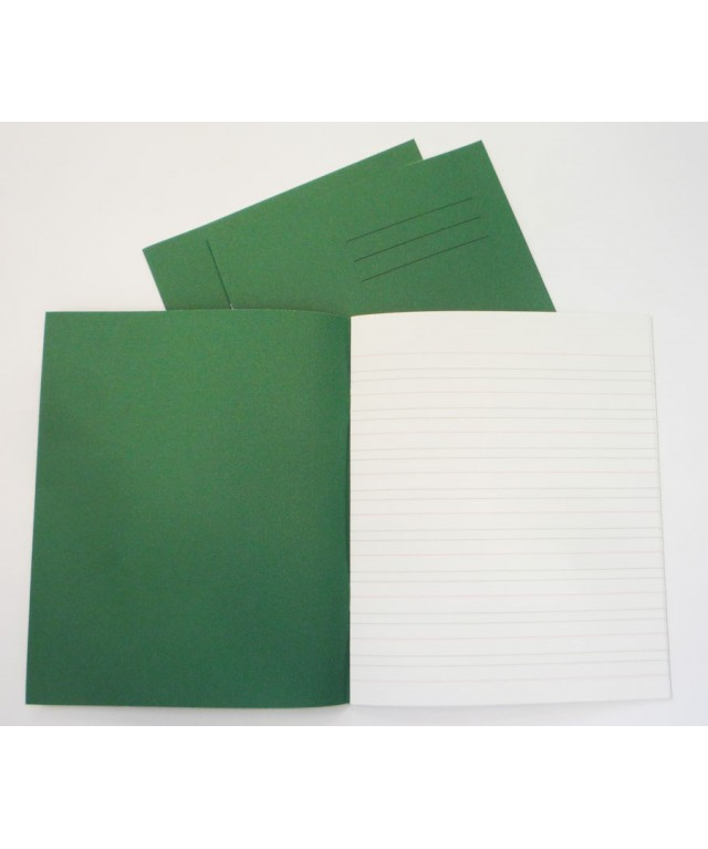Exercise Books 8 X 6.5 32 Page Learn To Write Dark Green