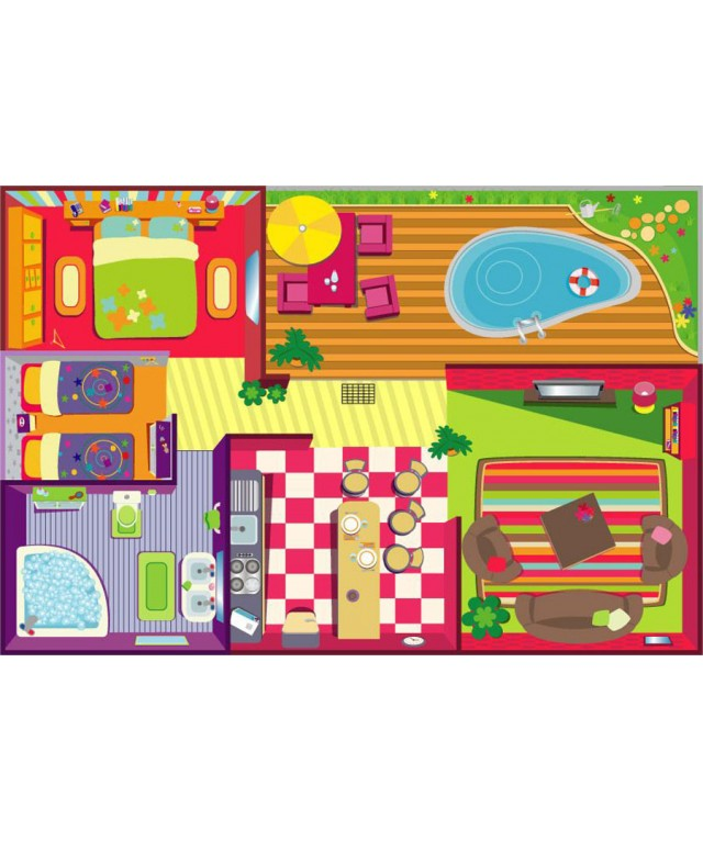 Playmats - Dolls House