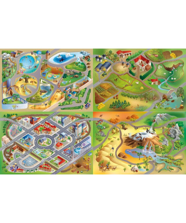 Playmat - Farm