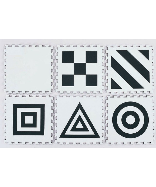 3D Creative Mat Black & White