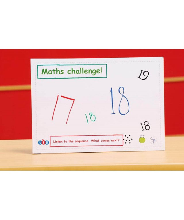 A4 Talk-Time Recordable Card 10 Second 30pk