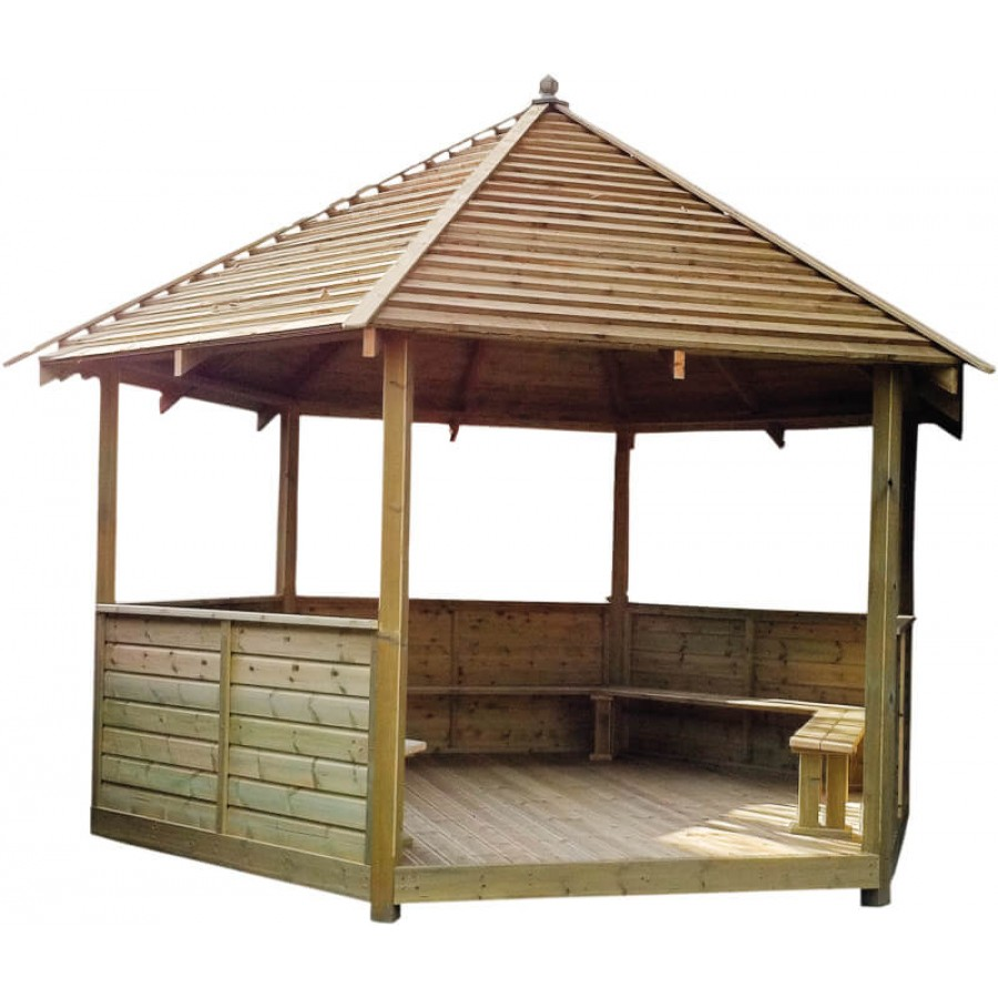 6 Sided Gazebo Creative Activity