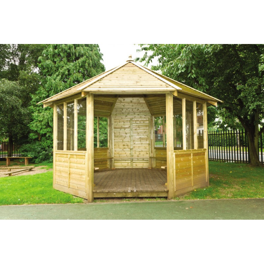 8 Sided Gazebo Creative Activity