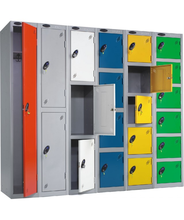 Three Compartment Locker 305 X 460mm Single