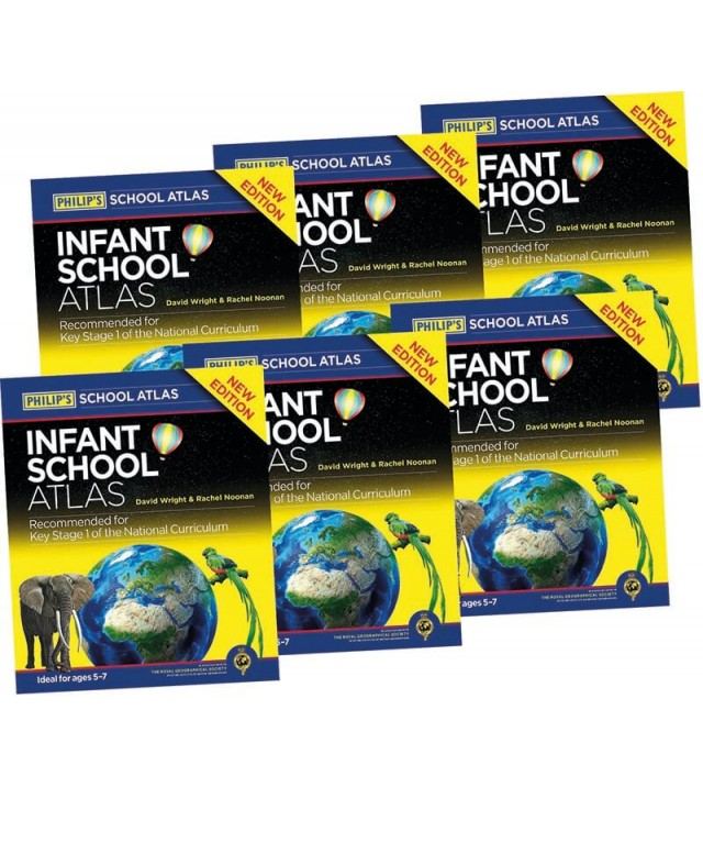 Phillips Infant School Atlas KS1  6pk