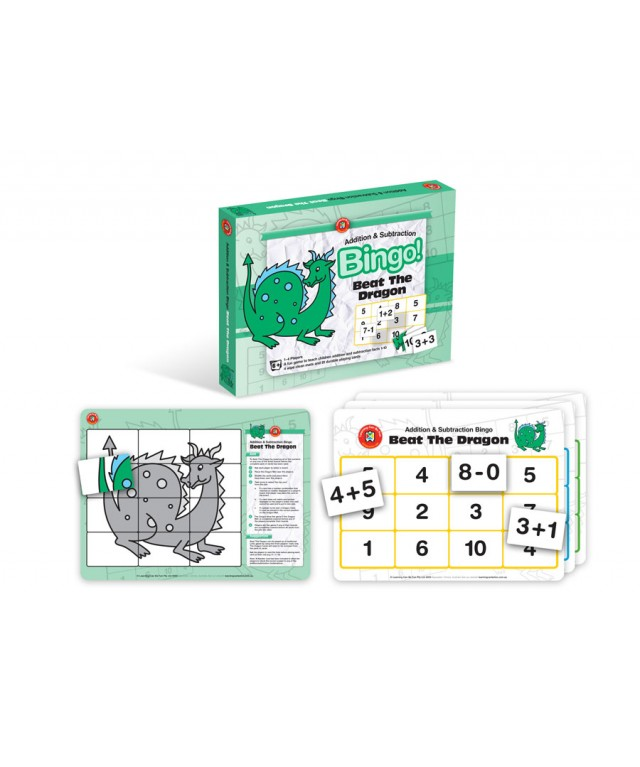 Beat The Dragon - Addition & Subtraction