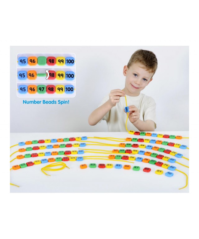 0-100 Number Beads