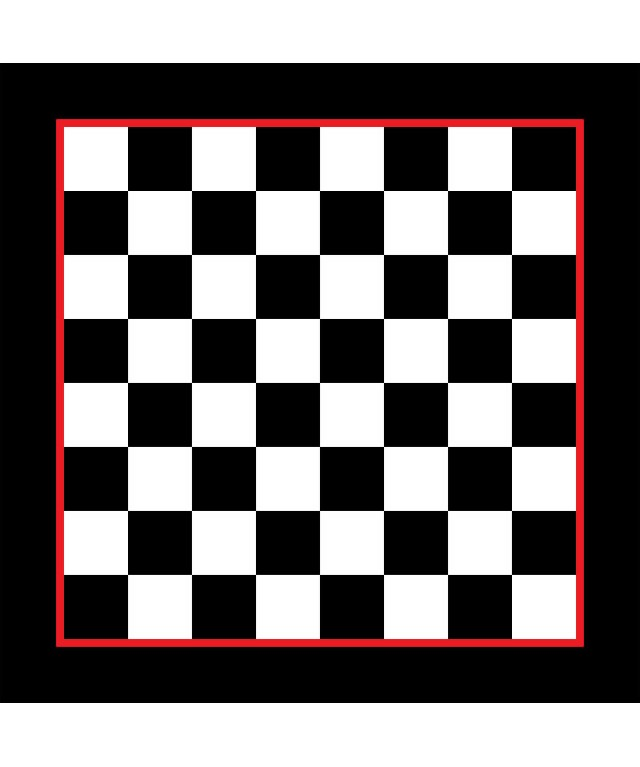 Chessboard Large Half Solid