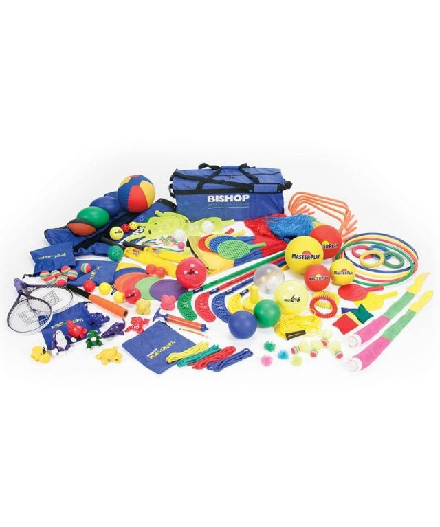 Active Play Equipment Set including Active Play Cards