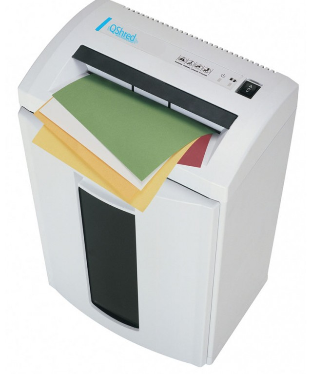 Qshred Department Shredder Cross Cut 33l