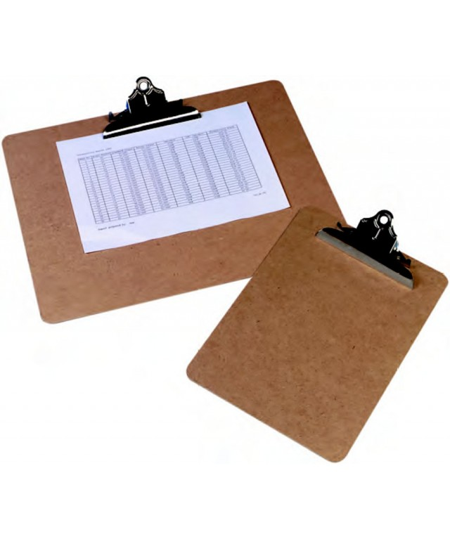 Clipboard FC/A4 Steel Grey