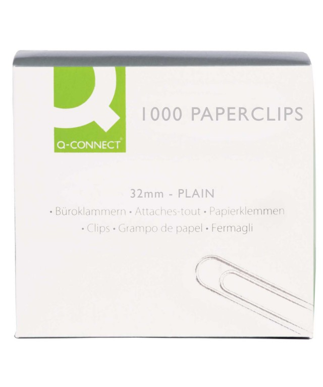 Paperclip 32mm Plain