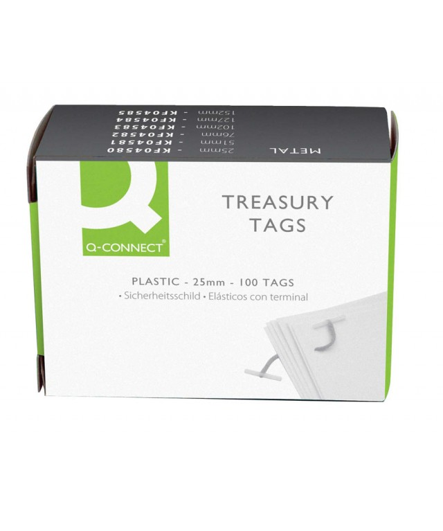 Plas Treasury Tag 101mm