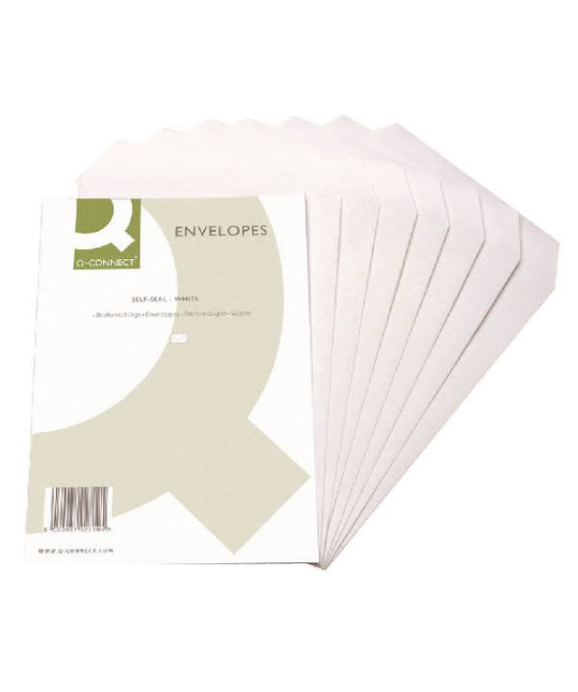 C5 Plain Pocket S/S Env White 90gsm