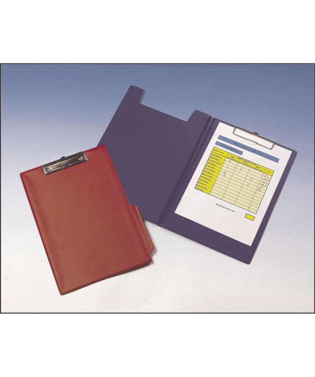 Pvc Clipboards Foldover Red