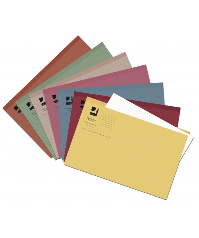Square Cut Folders Lightweight Buff
